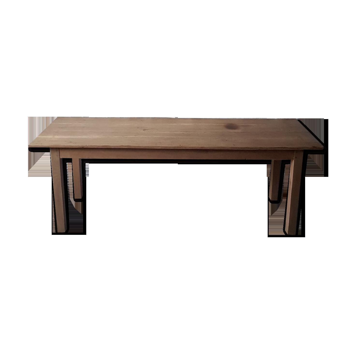 Table de ferme 12m12   Selency