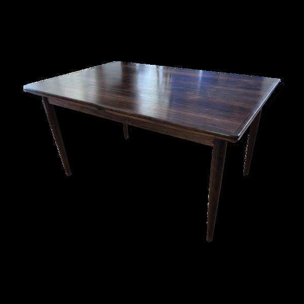 Table scandinave  made in Danemark en palissandre