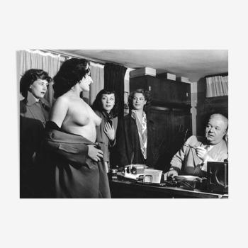 """Photographie, """"Audition au Concert Mayol"""", Paris 1952    /    Hommage à Robert Doisneau"""