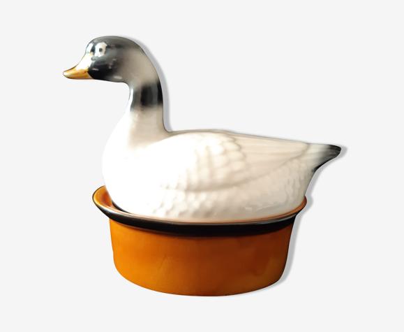 Terrine deco canard