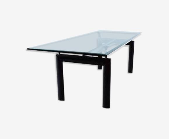 Table haute LC6 design Le Corbusier édition Cassina