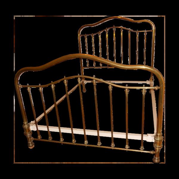Lit cuivre ancien  140x190cm