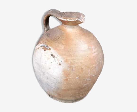 Cruche ancienne en grès vernissé