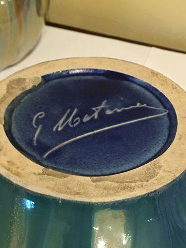 Lot 3 pièces en céramique G. Metenier