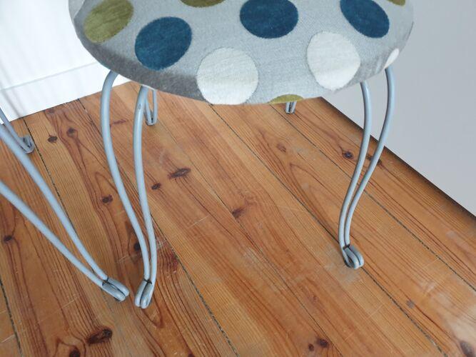 Paire de chaises de nourrice vintage