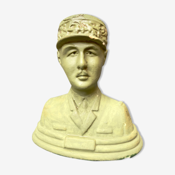 Buste en Plâtre du Général