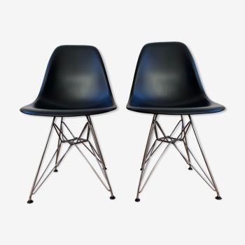 Chaises eames plastic side chair dsr vitra