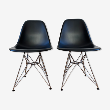 Eames plastic side chair dsr vitra chairs