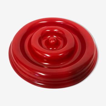 Cendrier rouge kartell isao hosoe 4636