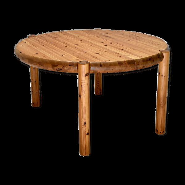 Selency Table en pin par Rainer Daumiller, pour Hirtshals Sawmill, 1960