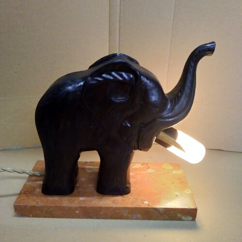 Lampe éléphant 1940