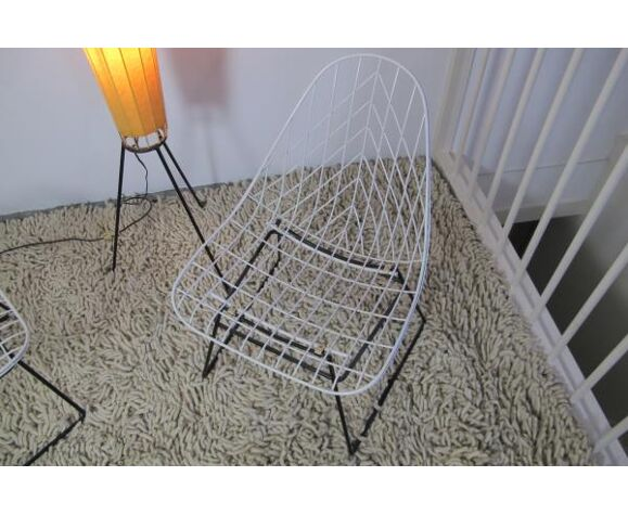 Chaise Wire par Cees Braakman pour Pastoe
