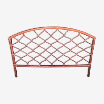 Tête de lit en bambou et rotin