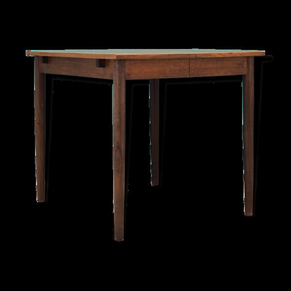 Table en teck, design danois, années 70