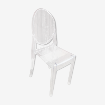 Starck's Gohst Chair edited by Kartell