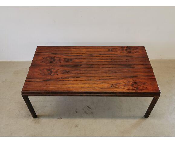 Table basse scandinave en bois de rose