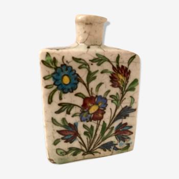 Vase terre cuite émaillée vernissée