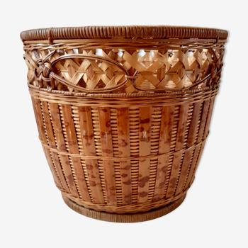 Rattan & wicker pot cover 70