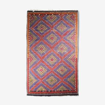 Tapis kilim anatolien fait à la main 340 cm x 205 cm
