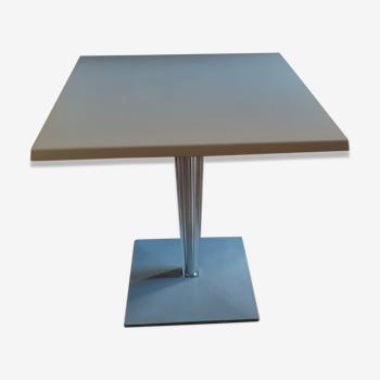 Square table top top / melamine - 70 x 70 cm - Kartell  Starck