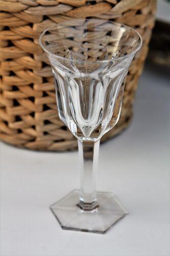 Set 6 glasses in Porto Baccarat model Malmaison