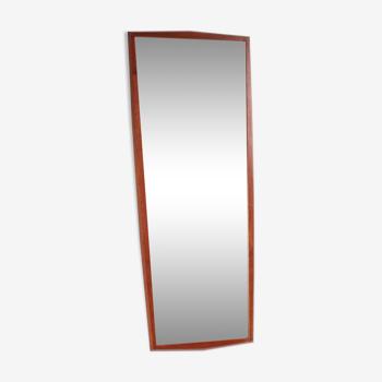 Miroir en teck danois 40x102cm
