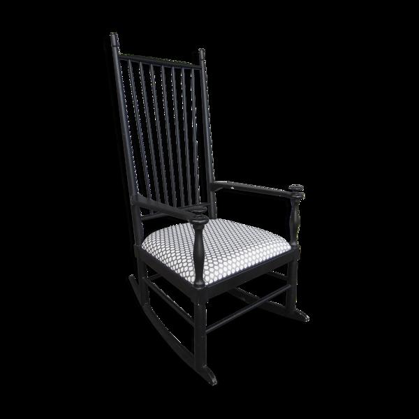 Rocking-chair scandinave Isabella par Karl-Axel Andersson pour Gemla