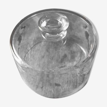 Cloche en verre bouchon
