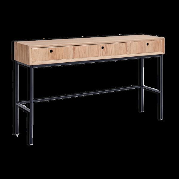 Console en bois de frêne 120cm
