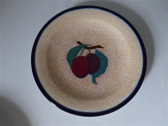 Assiettes à dessert vintage Amphora
