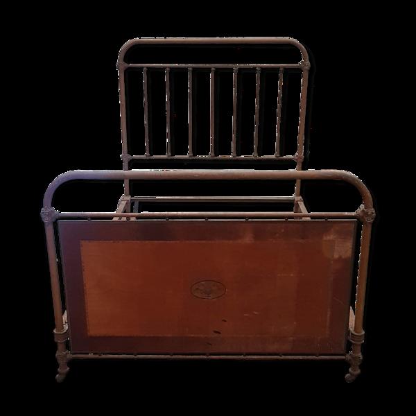 Ancien lit en fer 1900