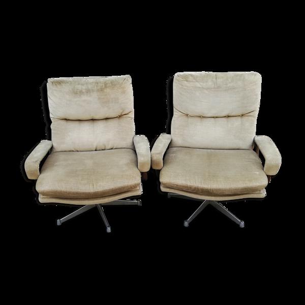 Paire de fauteuils King chair Srtassle international