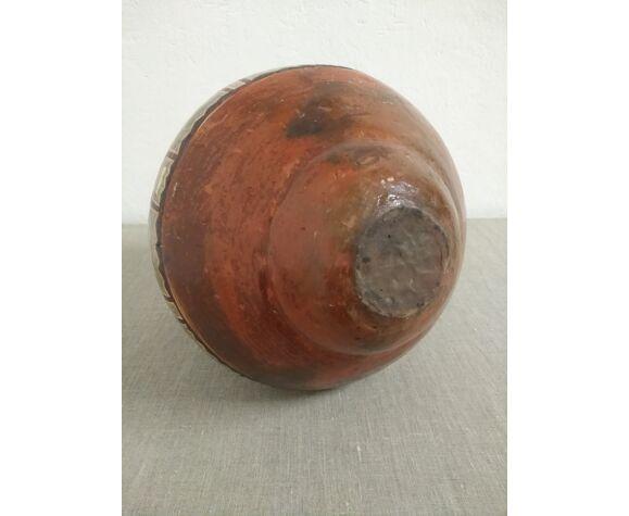 Cruche en céramique d'Amérique du Sud