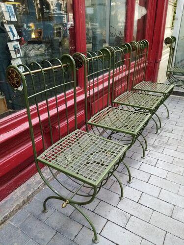 Chaises de jardins