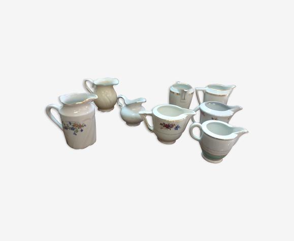 pot à lait différents modèles