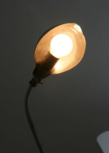 Lampe de table industrielle vintage