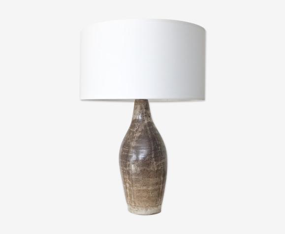 Lampe de table en céramique, grès de 1960