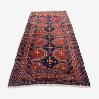 Ancien tapis shirwan persan antique 265x125 cm