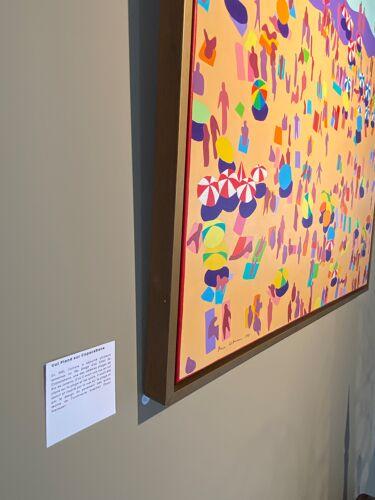 Peinture des années 1980 Pierre Wittmann