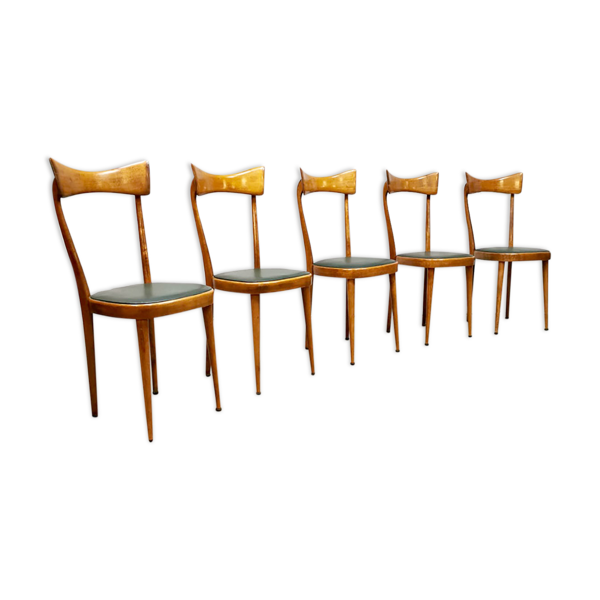 Selency Lot de 5 chaises italiennes