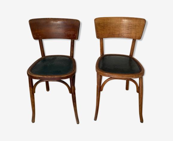 Paire de chaises bistrot