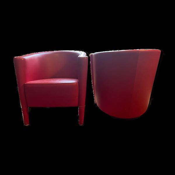Paire de fauteuils  RICH 1989 Antonio Citterio Moroso