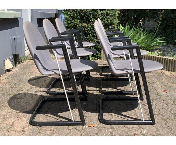 6 chaises des années 80