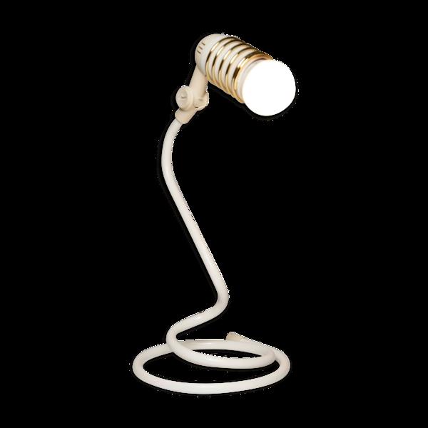 Lampe serpent articulée 1980