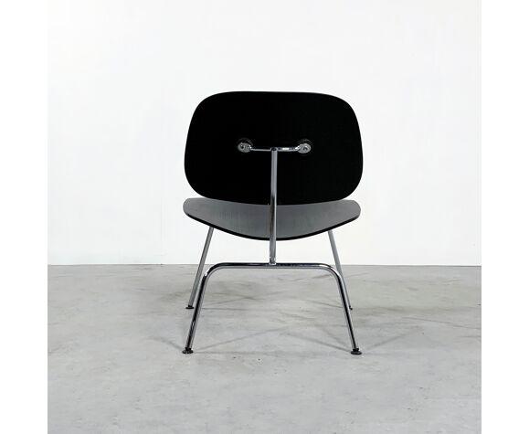 Chaise LCM noire par Charles & Ray Eames pour Vitra