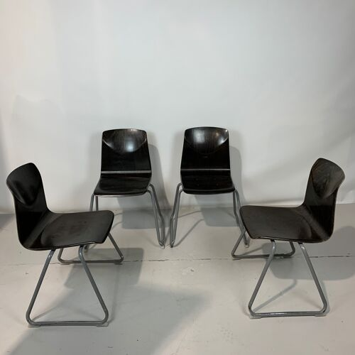 Lot de 4 chaises Thur op Seat