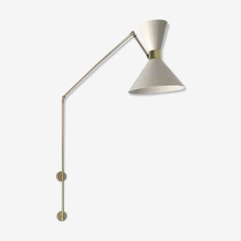 Applique dans le style des créations italiennes des années 50