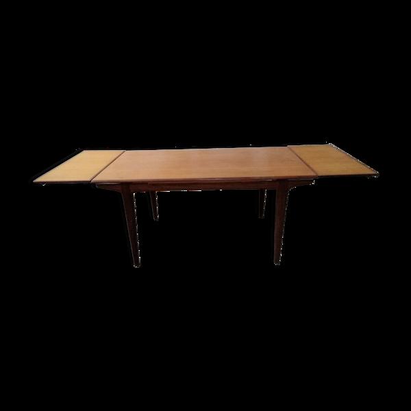Selency Table de salle à manger scandinave avec rallonge