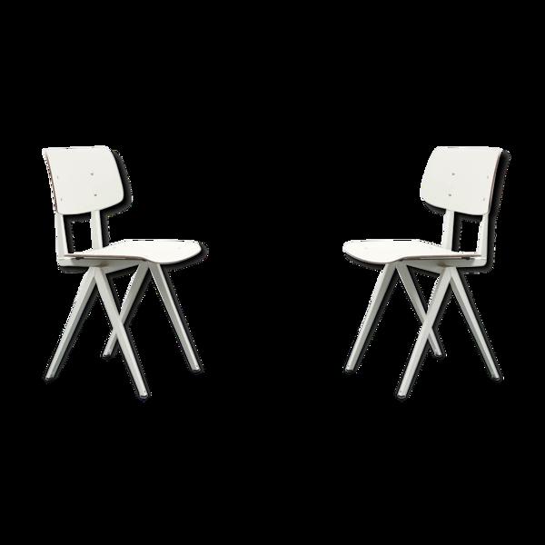 Selency Paire chaises S16 de Galvanitas réédition