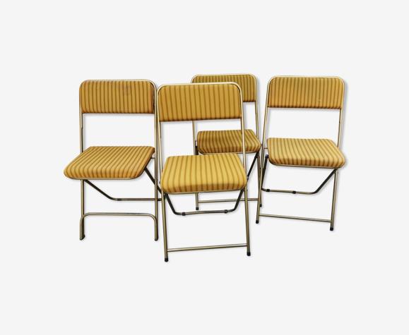 Lot 4 chaises Lafuma